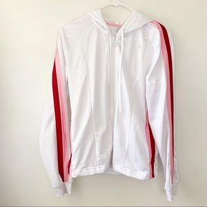 Nike two piece white tracksuit size large